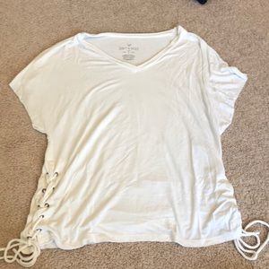 American eagle white Soft and sexy T-shirt